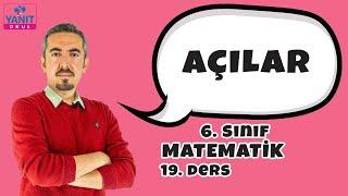 Eş Açılar - Komşu Açılar - Ters Açılar | Açılar | 6. Sınıf Matematik Konu Anlatımları