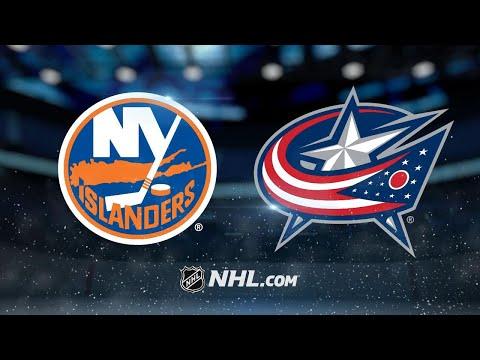 Bobrovsky, Blue Jackets blank Islanders, 5-0