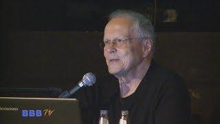 Vortrag zum BER: Flughafenplaner Dieter Faulenbach da Costa