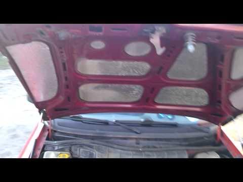Упор капота Opel Zafira - YouTube