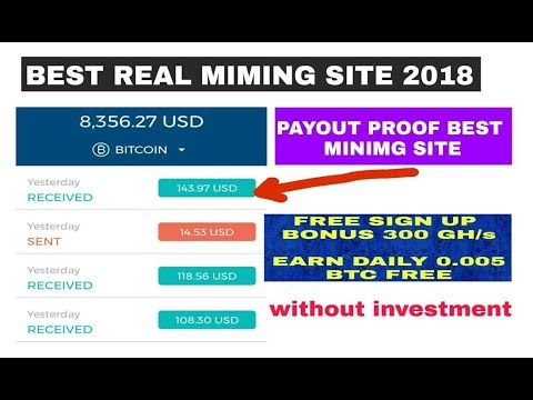How Earn Daily 0 005 Btc Free Without Invest 300 Gh S Bonus Mining Site Payout Proof