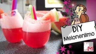 Erfrischende Melonen Limonade - Enjoy Summer