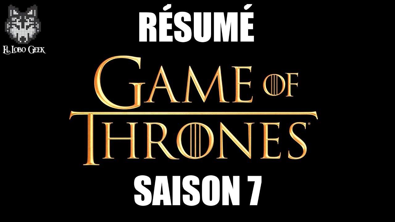 Got Résumé Saison 7 Game Of Thrones En 4 Minutes Youtube
