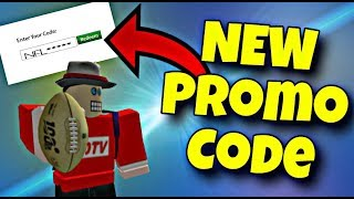 [NEW CODE] PROMO CODES ROBLOX AUGUST 2019 - NFL
