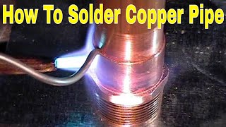 How To  Solder Copper Pipe And Repipe Home Part 1 Of 14 In Hd