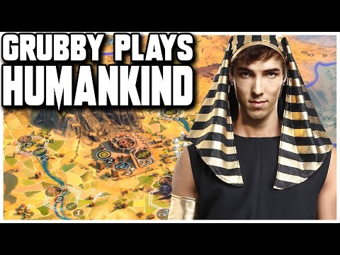 Grubby plays Humankind - a PC Strategy Game that's releasing April 2021! |