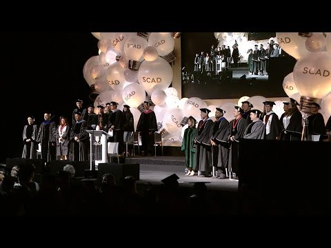 2017 SCAD Savannah Commencement, 9 a.m. ceremony