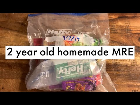 2 Year Old Homemade MRE - Is It Still Good?