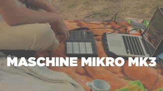 YouTube動画:Making A Soul Beat Outdoors with the Maschine Mikro MK3