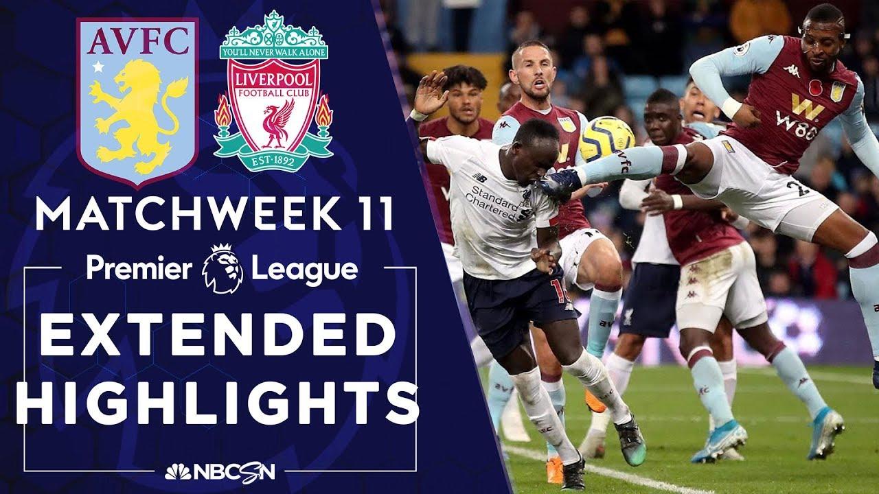 Aston Villa v. Liverpool | PREMIER LEAGUE HIGHLIGHTS | 11/02/19 | NBC Sports