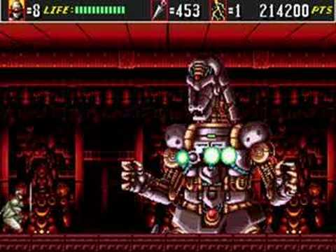 Shinobi 3 - Return of the Ninja Master - Boss Run