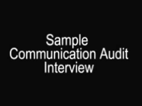 Sample Communication Audit