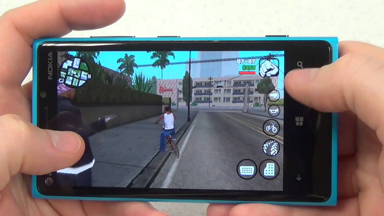 Grand Theft Auto San Andreas escapes to Windows Phone, but