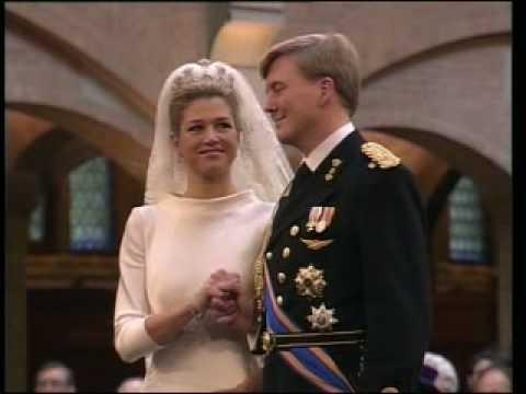 Civil Wedding Ceremony of the Prince of Orange and Máxima Zorreguieta