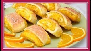Апельсиновое печенье. Пошаговый рецепт