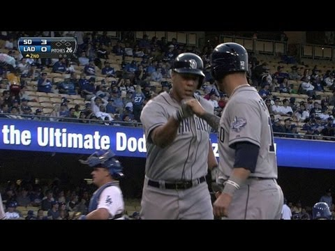 SD@LAD: Blanks blasts a two-run homer in the second