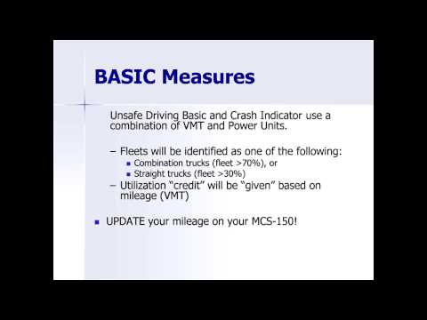 Accessing Company FMCSA Information: What the Numbers Mean