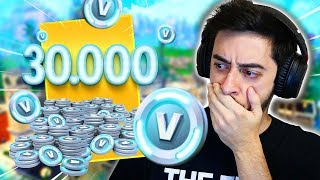 BOUGHT 30,000 V BUCKS CHEAPER! -Fortnite, the