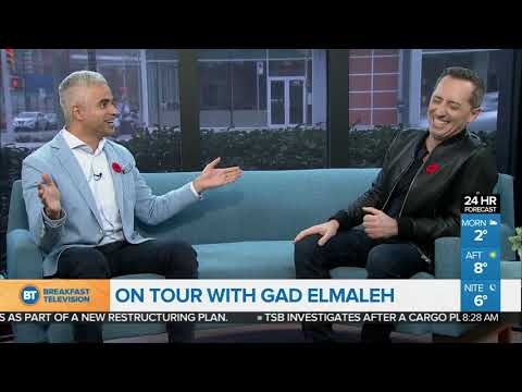 On Tour With Comedian Gad Elmaleh