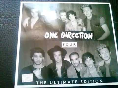 """Unboxing-One Direction """"Four"""" Ultimate Edition Mp3"""