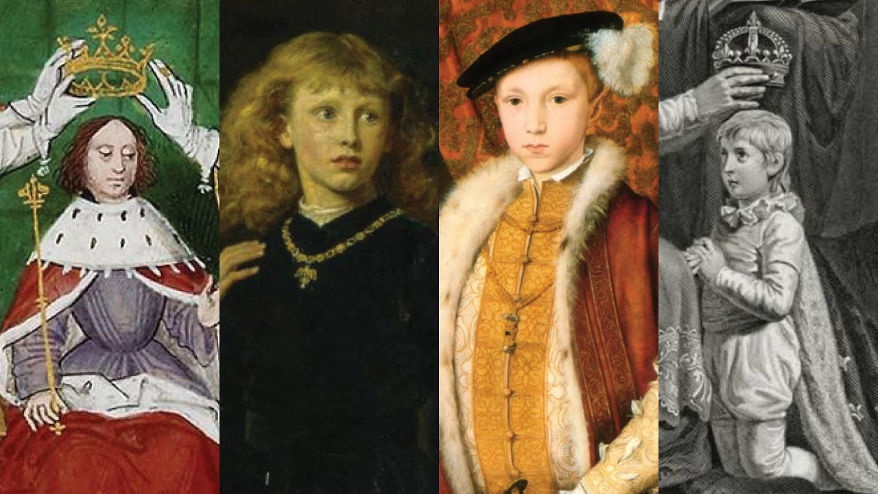 England's Youngest Kings