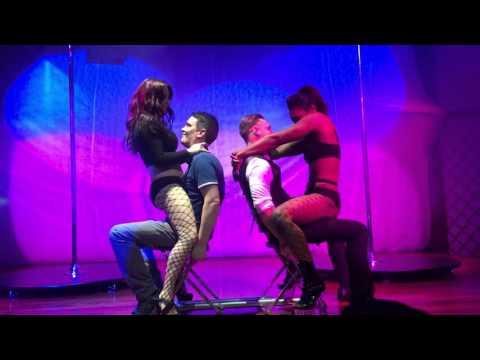 Alicia Domenica Surprise Performance For Venus Pole Dancing