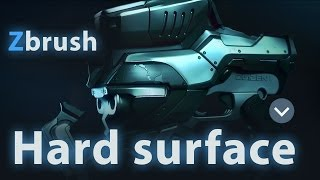 Hard Surface In Zbrush Part 01
