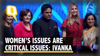 Ivanka Urges the World to see Women's Issues as 'Critical Issues' | The Quint