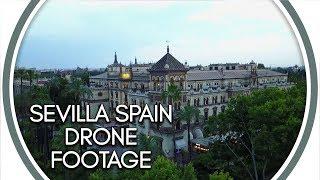 Sevilla Spain Drone Footage
