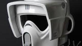 как сделать шлем штурмовика скаута часть 1How to make scout trooper helmet part 1