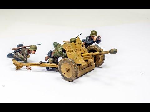 Tamiya 1/35 - 3.7cm PaK35/36 W. Stielgranate 41 - Built Review