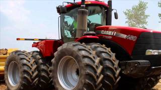 Case IH Steiger Tractors and Ashland Pull-Type Scrapers