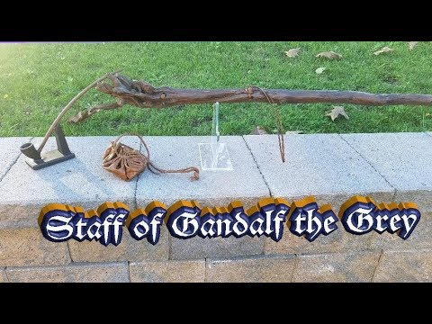 Weta Workshop Lord Of The Rings Staff Of Gandalf The Grey Prop Replica