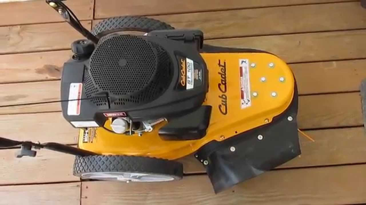 Cub Cadet Cc2090 Wiring Diagram Trusted 2146 22 In 159 Cc Gas Walk Behind String Trimmer St 100 Youtube 1050
