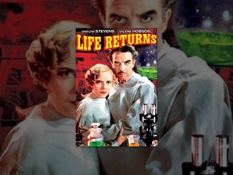 LIFE RETURNS  Valerie Hobson  Full Length SciFi Movie  English  HD  720p