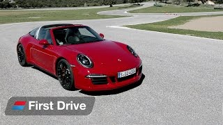 Porsche 911 Targa 4 GTS first drive review