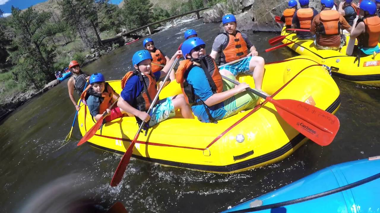 Fort Collins Whitewater Rafting July 2016