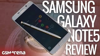 Samsung Galaxy Note5 review