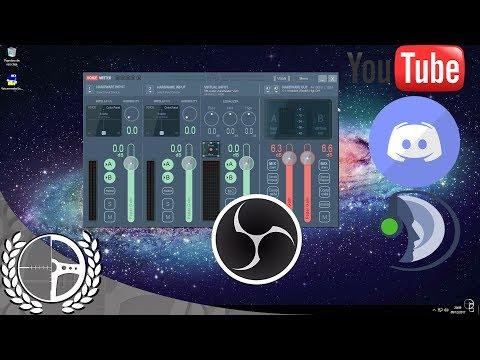 Separar audio OBS - Discord, TeamSpeak, Skype [Voicemeeter] - 2018
