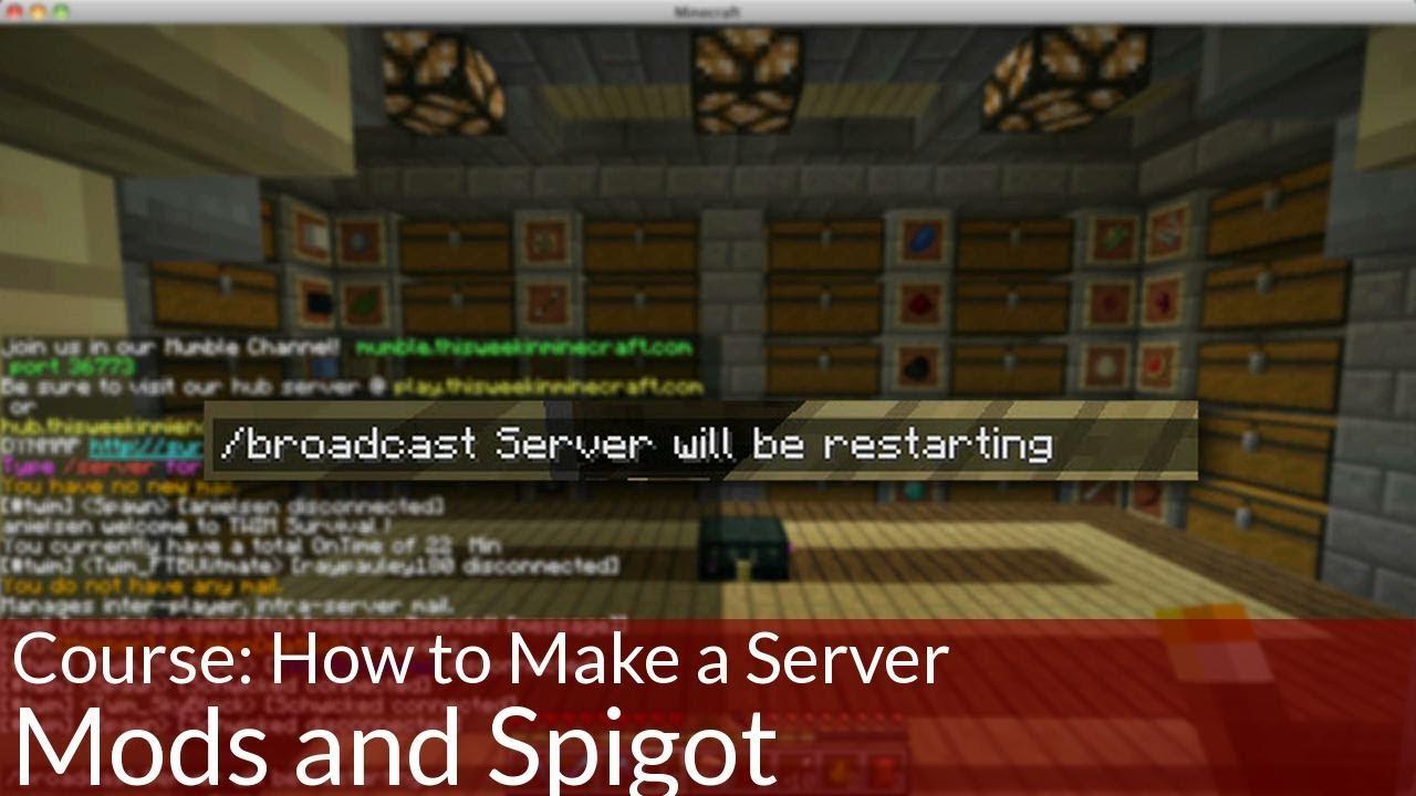 omgcraft how to make a server