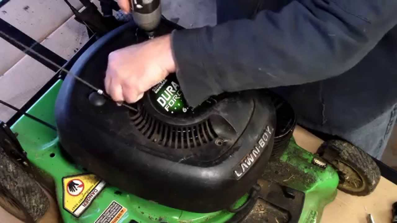 Replace Lawnboy mower coil EASY!  YouTube