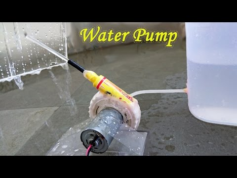 Thumbnail: How to Make a Water Pump using Bottle and Sketch pen - Easy Way