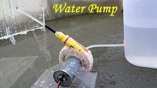 How to Make a Water Pump using Bottle and Sketch pen - Easy Way