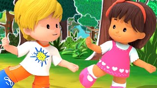 Fisher Price Little People ⭐Listen Up ⭐New Season! ⭐Full Episodes HD ⭐Cartoons for Kids