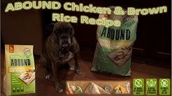 Abound Chicken & Brown Rice Recipe Review