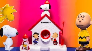 SNOOPY SNO CONE MAKER Peanuts Snoopy Snow Cone Maker Video Toy Review theengineeringfamily
