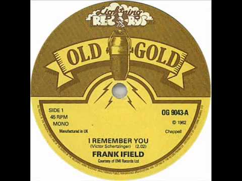 Frank Ifield - I remember you (1962)