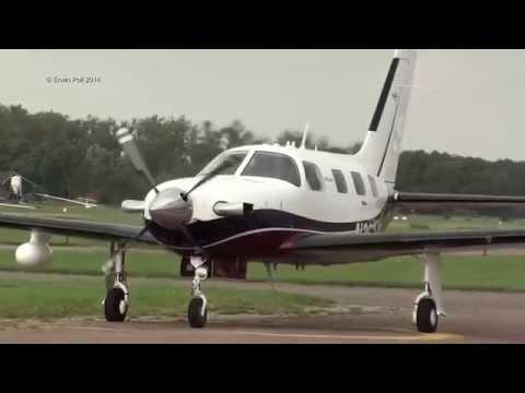 Piper PA-46-500TP Malibu  N363JR teuge airport 29-08-2014