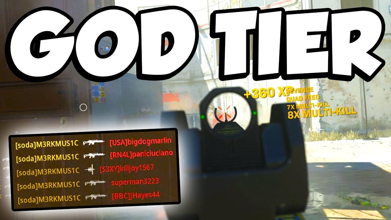 This Gun is GOD TIER! (Call of Duty: Modern Warfare) thumbnail