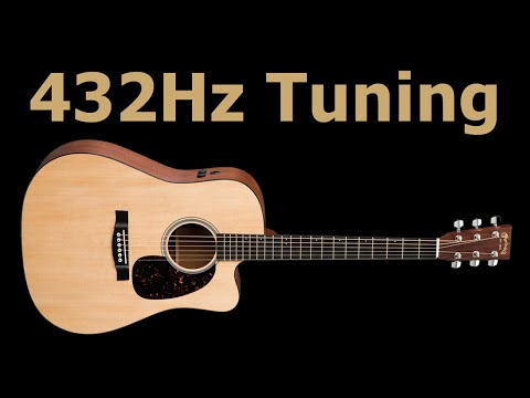 432Hz Guitar Tuning